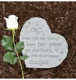 DOG SPEAK Memory Stone - Dogs Come Into Our Lives....