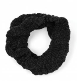 Chenille Infinity Scarf Black