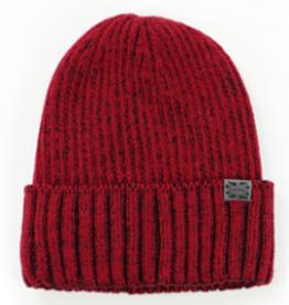Winter Harbor Mens Winter Hat Red