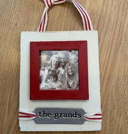 MUDPIE Ornament Stamped Grands Frame