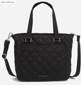 VERA BRADLEY Multi-Strap Shoulder Bag Black Performance Twill