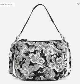 VERA BRADLEY Carson Shoulder Bag Bedford Blooms