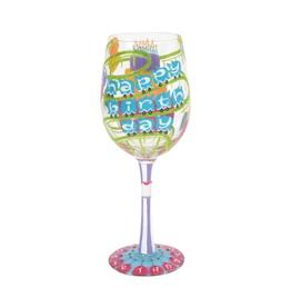 LOLITA Birthday Roller Coaster WIne Glass