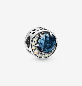 PANDORA Moon and Night Sky Charm Silver