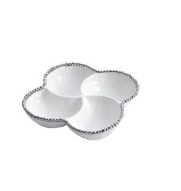 PAMPA BAY BARBAGALLO COMPANY Porcelain 4 Section Bowl