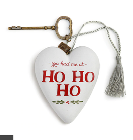 Art Heart You had me at Ho Ho Ho