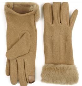 Jack & Missy Socialite Gloves Tan