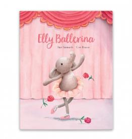 JELLYCAT INC. Elly Ballerina Book