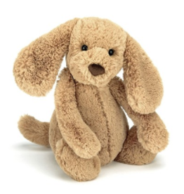 JELLYCAT INC. Bashful Toffee Puppy Medium
