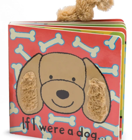 JELLYCAT INC. If I Were a Dog Book Toffee