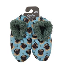 Comfies Slippers Pug