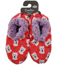 Comfies Slippers Westie