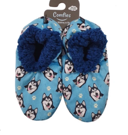 Comfies Slippers Siberian Husky