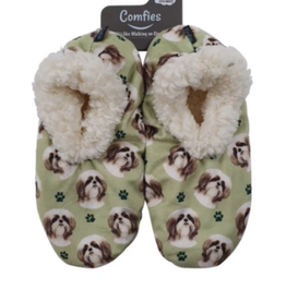 Comfies Slippers Shih Tzu Tan