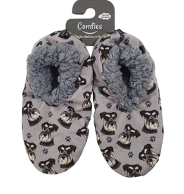 Comfies Slippers Schnauzer