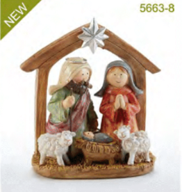 DELTON PRODUCTS CORP. Nativity with Lambs