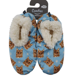 Comfies Slippers Orange Tabby