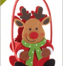DELTON PRODUCTS CORP. Felt Reindeer Bag