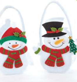 DELTON PRODUCTS CORP. Felt Snowman Bag