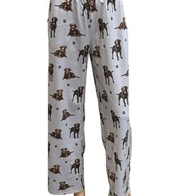 Pajama Bottoms Chocolate Labrador