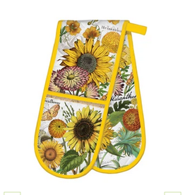MICHEL DESIGN WORKS Double Oven Glove Sunflower