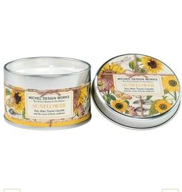 MICHEL DESIGN WORKS 4 oz. Travel Candle Sunflower