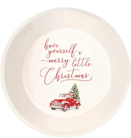 AMSCAN Pie Plate Merry Little Christmas