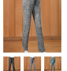 Heathered Jersey Pants