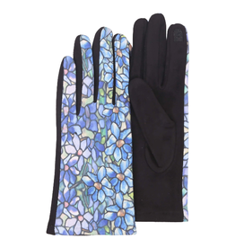 "RAINCAPER BY GAZEBO GREEN Texting Gloves - Tiffany ""Clematis"""