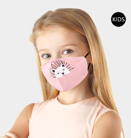 Kids Mask Bears on Pink