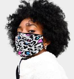 Face Mask Sequin Cluster