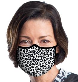 RAINCAPER BY GAZEBO GREEN Face Mask - Black White Animal Print