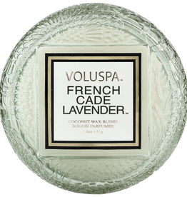 VOLUSPA French Cade & Lavender Macaron Candle