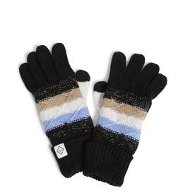 VERA BRADLEY Cozy Striped Knit Tech Gloves Cozy Plaid Neutral