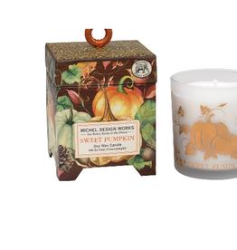 MICHEL DESIGN WORKS 6.5oz. Soy Wax Candle Sweet Pumpkin