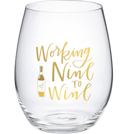 Boxed Stemless Wine Working Nine to Wine