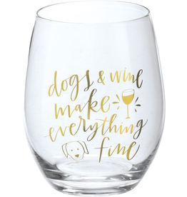 Boxed Stemless Wine Dogs & Wine...