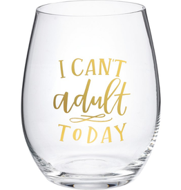 Boxed Stemless Wine I Can't Adult Today