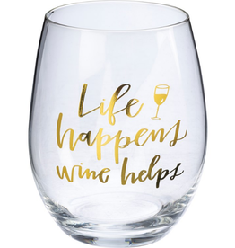Boxed Stemless Wine  Life Happens Wine Helps