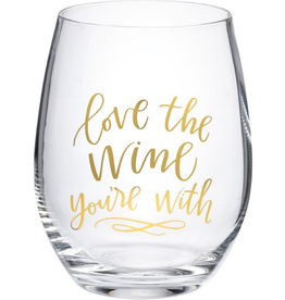 Boxed Stemless Wine Love the Wine You're With