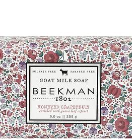 BEEKMAN 1802 INC Honeyed Grapefruit 9 oz Bar Soap