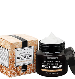 BEEKMAN 1802 INC Honey & Orange Blossom 8 oz Whipped Body Cream