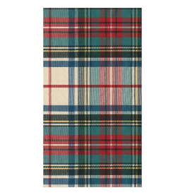 CASPARI Dress Stewert Tartan Guest Towel