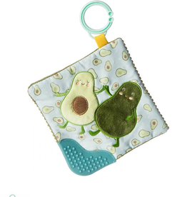 MARY MEYER STUFFED TOYS 6×6″Crinkle Teether – Yummy Avocado