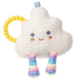 MARY MEYER STUFFED TOYS 6″Teether Rattle–Puffy Cloud