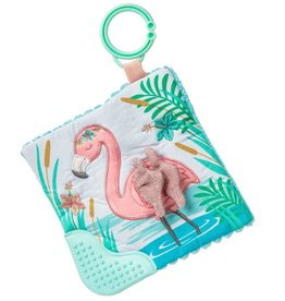 MARY MEYER STUFFED TOYS 6×6″Crinkle Teether – Tingo Flamingo