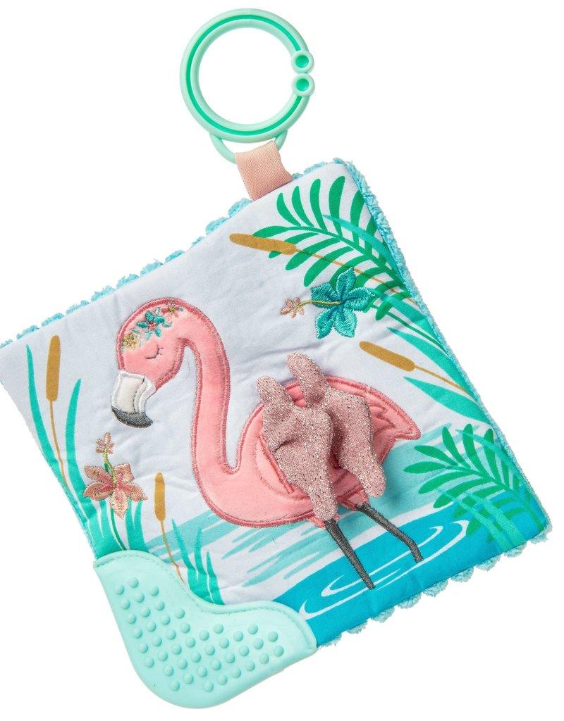 MARY MEYER STUFFED TOYS 6×6″Crinkle Teether – Tingo Flamingo