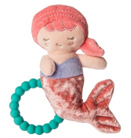 MARY MEYER STUFFED TOYS 6″Teether Rattle –Marina Mermaid