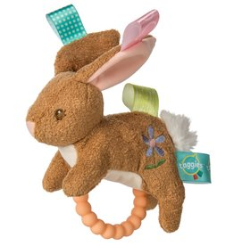 MARY MEYER STUFFED TOYS Taggies Teether Rattle Harmony Bunny