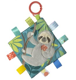 MARY MEYER STUFFED TOYS 6×6″Taggies Crinkle Me–Molasses Sloth